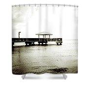 Pier Extreme Shower Curtain