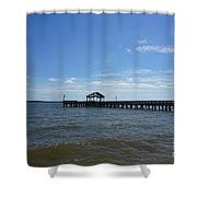 Pier  Shower Curtain