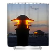 Pier Lights Shower Curtain