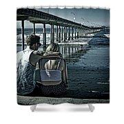 Pier Love Shower Curtain