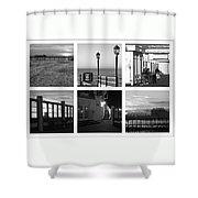 Pier Moods Shower Curtain