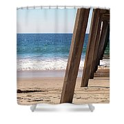Pier On The Pacific Shower Curtain