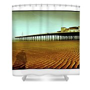 Pier Open Every Day Shower Curtain
