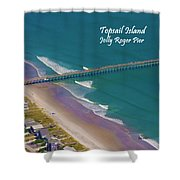 Pier Tastic Shower Curtain