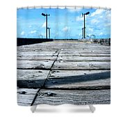 Pier To The Sky Shower Curtain