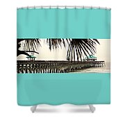 Pier Walk Shower Curtain