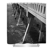 Pier Willmington Nc Shower Curtain