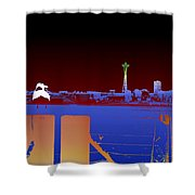 Pier With A View Shower Curtain