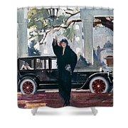 Pierce-arrow Ad, 1925 Shower Curtain