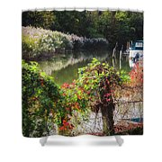 Piermont Fall Color Shower Curtain
