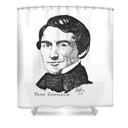 Pierre Chouteau Jr Shower Curtain