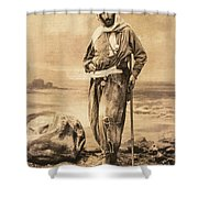 Pierre Savorgnan De Brazza Shower Curtain