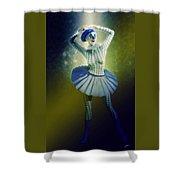 Pierrette At The Opera Shower Curtain