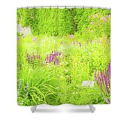 Piet Oudolf Garden At Tbg Shower Curtain