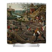 Pieter Breughel The Younger Shower Curtain