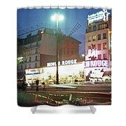 Pigalle Paris Shower Curtain