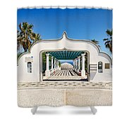 Piges Kallitheas In Rhodes - Greece. Shower Curtain