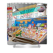 Pike Place Fish Co. Shower Curtain