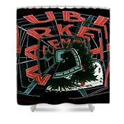 Pike Place Market Entrance 4 Shower Curtain