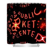 Pike Place Market Entrance 7 Shower Curtain