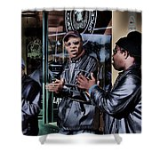 Pike Place Trio Shower Curtain