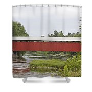 Pike River Canada Shower Curtain