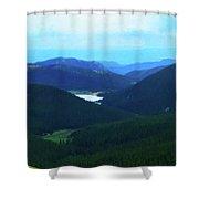 Pikes Peak 2 Shower Curtain