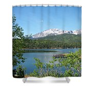 Pike's Peak Shower Curtain