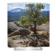 Pikes Peak Bristlecone Shower Curtain