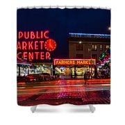 Pikes Place Market Shower Curtain