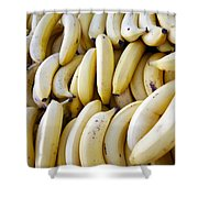 Pile Of Bananas Shower Curtain