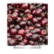 Pile Of Cherries Shower Curtain