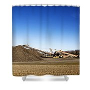 Pile Of Sugar Beets Shower Curtain