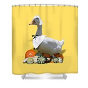 Pilgrim Duck Shower Curtain