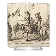 Pilgrimage To French Bucholz Shower Curtain
