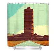 Pillar Of Success Shower Curtain