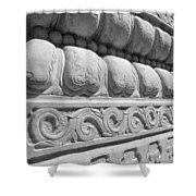 Pillar Theme Shower Curtain