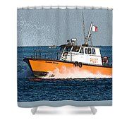 Pilot Boat Shower Curtain