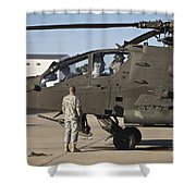 Pilots Prepare For Their Mission In An Shower Curtain