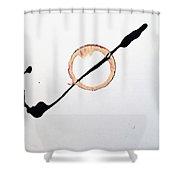 Pin Wheel Shower Curtain