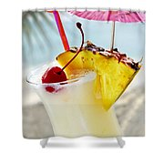 Pina Colada Shower Curtain