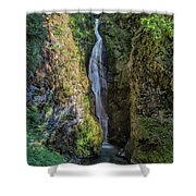 Pinard Falls Squared Shower Curtain