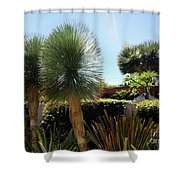 Pinball Plants, Long-pin Plants Shower Curtain