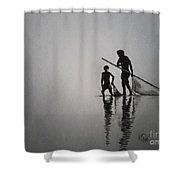 Pincil Art Drawing Shower Curtain