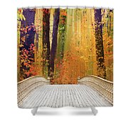 Pine Bank Splendor Shower Curtain
