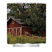 Pine Barn Shower Curtain