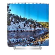 Pine, Co Shower Curtain