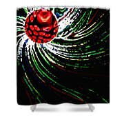 Pine Cone Abstract Shower Curtain