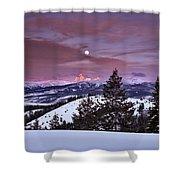 Pine Creek Pass Shower Curtain