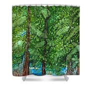 Pine Haven Shower Curtain